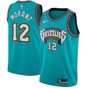 Memphis Grizzlies Turquoise Hardwood Classics Finished Swingman Jersey