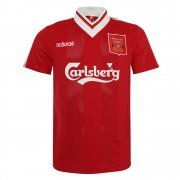 1995/96 Liverpool Retro Home Soccer Jersey Men's