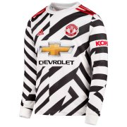 2020/2021 Manchester United Third LS Soccer Jersey Men's