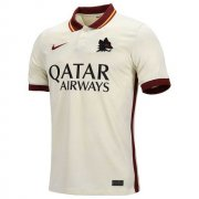 2020/2021 AS Roma Away White Soccer Jersey Men's