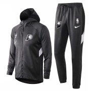 2020/2021 Indiana Pacers Grey Training Suit Jacket + Pants - Hoodie
