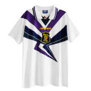 1996 Scotland Away White Retro Soccer Jersey Shirt Men
