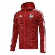 2020/2021 Manchester United Red All Weather Windrunner Soccer Jacket Men's