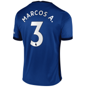 2020/2021 Chelsea Home Blue Men's Soccer Jersey Marcos A. #3