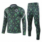 2020/2021 Nigeria Deep Green Men's Soccer Training Suit