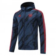 2020/2021 Arsenal Navy All Weather Windrunner Soccer Jacket Men's