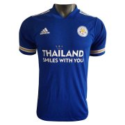 2020/2021 Leicester City Home Yellow Soccer Jersey Men's - Match
