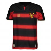 2020/2021 Sport Club Do Recife Home Black&Red Soccer Jersey Men's