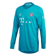 2020/2021 Bayern Munich Home Goalkeeper Green LS Men's Soccer Jersey Shirt