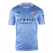 2020/21 Manchester City Home Men Soccer Jersey Shirt