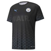 2020/2021 Manchester City x BALR Signature Black Soccer Training Jersey Men