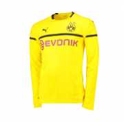 Borussia Dortmund Cup 18-19 Cup Home Yellow LS Soccer Jersey Shirt