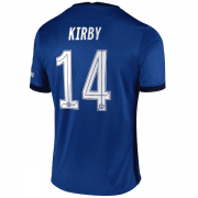 2020/2021 Chelsea Home Blue Men's Soccer Jersey Kirby #14