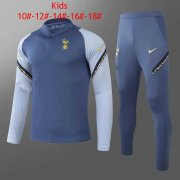 2020/2021 Tottenham Hotspur Blue Kid's Soccer Training Suit