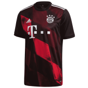 2020/2021 Bayern Munich Third Black Soccer Jersey Men's