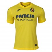 2020/2021 Villarreal Home Yellow Soccer Jersey Men's