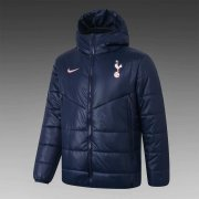 2020/2021 Tottenham Hotspur Navy Soccer Winter Jacket Men's