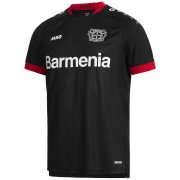 2020/2021 Bayer 04 Leverkusen Home Black Men Soccer Jersey Shirt