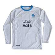 2020/2021 Olympique Marseille Home LS Soccer Jersey Men's