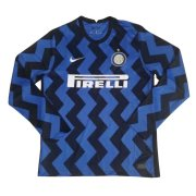2020/2021 Inter Milan Home LS Soccer Jersey Men's