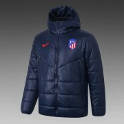 2020/2021 Atletico Madrid Navy Soccer Winter Jacket Men's