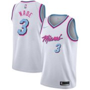 Miami Heat Vice White Swingman Jersey