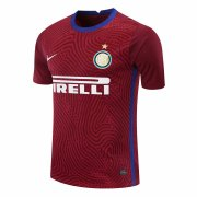 2020/2021 Inter Milan Goalkeeper Red Soccer Jersey Men's