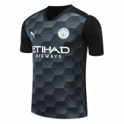 2020/2021 Manchester City Goalkeeper Black Soccer Jersey Men's