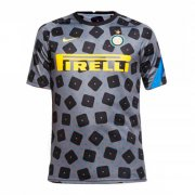 2020/2021 Inter Milan Soccer Training Jersey Grey - Mens