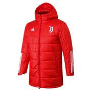 2020/2021 Juventus Red Soccer Winter Jacket Men's