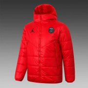 2020/2021 PSG Red Soccer Winter Jacket Men's