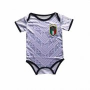 2020 Italy Away White Baby Infant Crawl Soccer Jersey Shirt