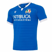 2020/2021 Italy Home Blue Rugby Soccer Jersey Men's