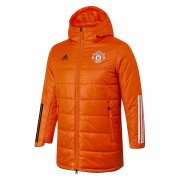 2020/2021 Manchester United Orange Soccer Winter Jacket Men's
