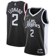2020/2021 Los Angeles Clippers Black Swingman Jersey City Edition