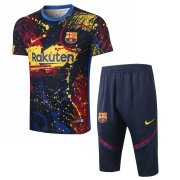 2020-2021 Barcelona Short Soccer Training Suit Camouflage