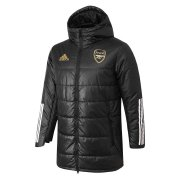 2020/2021 Arsenal Black Soccer Winter Jacket Men's