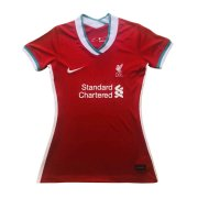2020/21 Liverpool Home Red Women Soccer Jersey Shirt