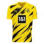 2020/2021 Borussia Dortmund Home Yellow Men Soccer Jersey Shirt
