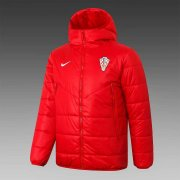 2020/2021 Croatia Red Soccer Winter Jacket Men's