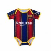 2020/2021 Barcelona Home Red&Blue Stripes Baby Infant Crawl Soccer Jersey Shirt