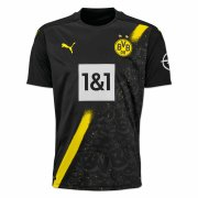 2020/2021 Borussia Dortmund Away Black Men Soccer Jersey Shirt