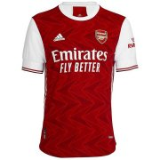2020/2021 Arsenal Home Red Soccer Jersey Men's