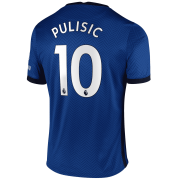 2020/2021 Chelsea Home Blue Men's Soccer Jersey Pulisic #10