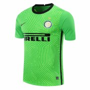 2020/2021 Inter Milan Goalkeeper Green Soccer Jersey Men's