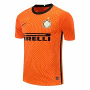 2020/2021 Inter Milan Goalkeeper Orange Soccer Jersey Men's