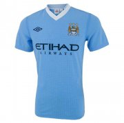2011/2012 Manchester City Retro Home Men Soccer Jersey Shirt