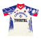 93/94 PSG Away White Retro Soccer Jersey Shirt Men