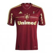 2012 Fluminense Retro Third Brown Men Soccer Jersey Shirt