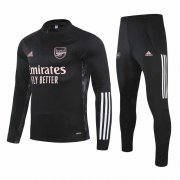 2020-2021 Arsenal UCL Black Soccer Training Suit
